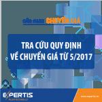 Cẩm nang về Giao dịch liên kết (chuyển giá) 2017