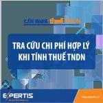 Công cụ tra cứu Chi phí hợp lý được trừ khi tính thuế TNDN