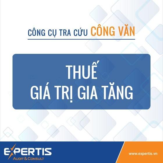 Công cụ tra cứu công văn hướng dẫn về Thuế GTGT