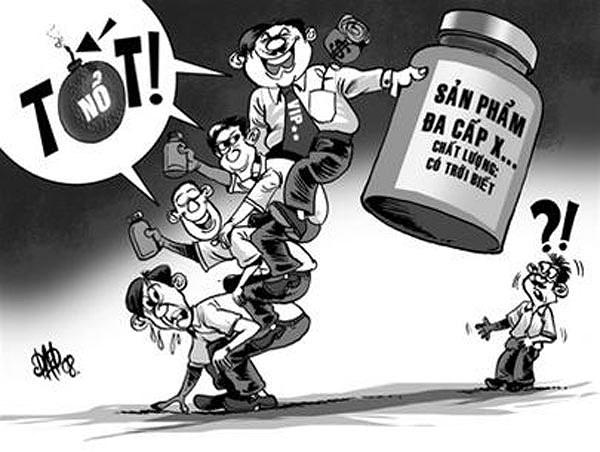 Mức phạt mới cho hành vi bán hàng đa cấp bất chính