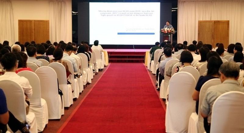 BHXH Việt Nam phổ biến Bộ luật Hình sự