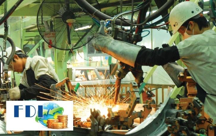Vốn FDI tiếp tục chảy mạnh vào Việt Nam