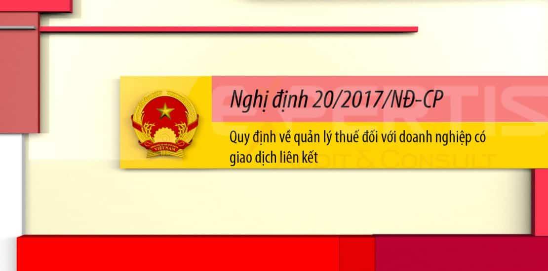 Nghị định 20-2017-ND-CP