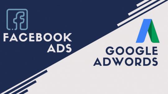 Chi phí quảng cáo google facebook