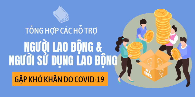 Tổng hợp hỗ trợ người lao động và người sử dụng lao động gặp khó khăn do Covid-19